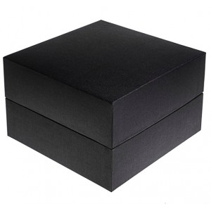 Biodegradable Cremation Ashes Urn / Casket (2 Adults - Companion) - Serenity Sapphire Black