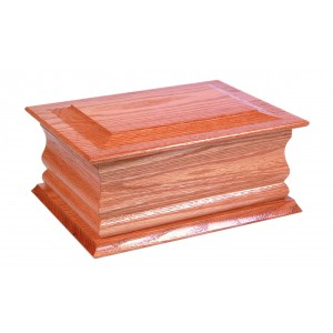 Hilda Oak Cremation Ashes Casket - FREE Engraving when you buy this product.