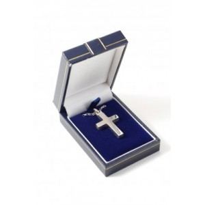 Sterling Silver Cross - engraved
