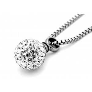Chelsea Crystal Ball Necklace