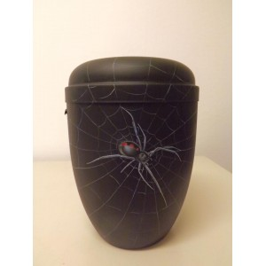 Biodegradable Cremation Ashes Funeral Urn / Casket - SPIDERS WEB