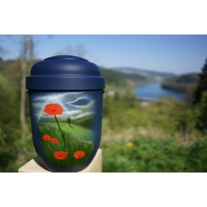 Biodegradable Cremation Ashes Funeral Urn / Casket – POPPY FIELD
