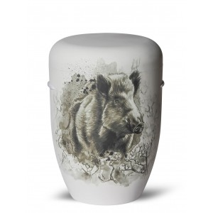 Biodegradable Cremation Ashes Funeral Urn / Casket – BOAR (Wild & Free)