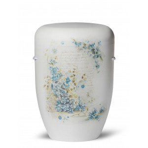 Biodegradable Cremation Ashes Funeral Urn / Casket – FORGET ME NOT (I Do Miss You)