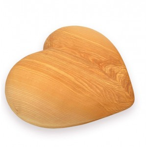 Superior Quality Limewood Cremation Ashes Urn - ETERNAL HEART