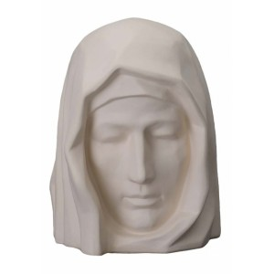 Our Holy Mother - Ceramic Cremation Ashes Urn – Unglazed