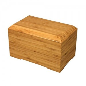 Bamboo Cremation Ashes Casket / Urn - A PERFECT TRIBUTE - Free Engraving