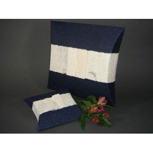 Biodegradable Cremation Ashes Funeral Urn - JOURNEY EARTHURN (Navy Blue)