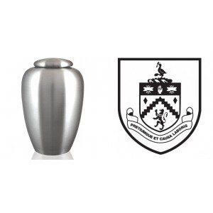 UK Football Team Cremation Ashes Urn – Engraved Logo – Burnley FC – The Clarets