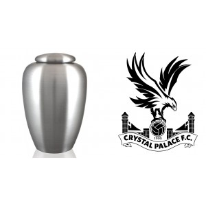 UK Football Team Cremation Ashes Urn – Engraved Logo – Crystal Palace – The Eagles