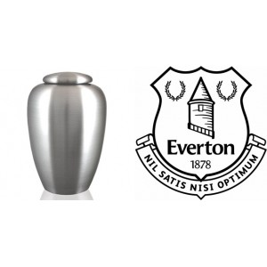 UK Football Team Cremation Ashes Urn – Engraved Logo – Everton – Nothing But The Best