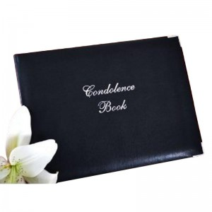 Black 'Condolences Book'