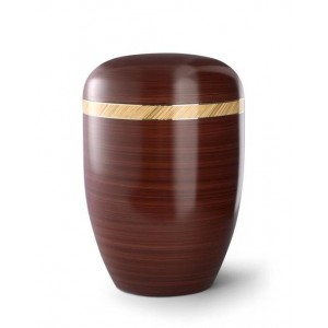 Biodegradable Urn (Milano Edition - Chestnut Brown)