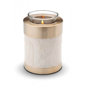 Candle Holder Keepsake (Mother of Pearl)