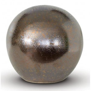 Medium Rounded Ceramic Urn (Bronze)