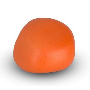 Cremation Ashes Keepsake / Miniature Urn – Huggable Cuddle Stone (Orange Matt)