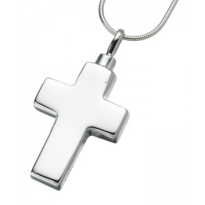 Large Sterling Silver Cross Pendant