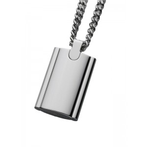 Stainless Steel Flask Pendant