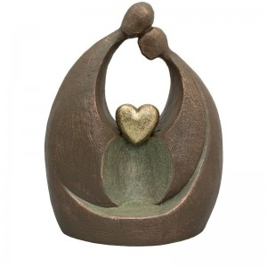 Ceramic Statue Urn - Forever in Our Hearts - Lovingly Created to Order
