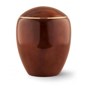 Wooden Urn (Round Top in Teak)