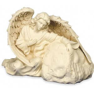 Heavenly Guardian Cremation Ashes Urn - Weatherproof (Indoor / Outdoor Use)