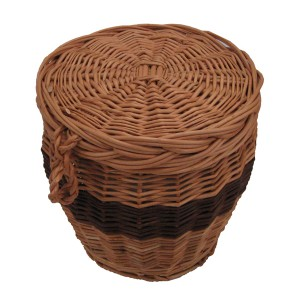Wicker / Willow Cylinder Cremation Ashes Casket. Beautiful Urns, Buy Direct