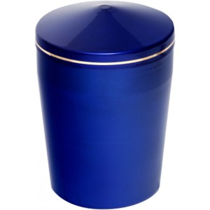 Ferrer Metal Urn (Blue)
