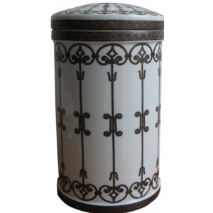 Altai Porcelain Cremation Ashes Urn