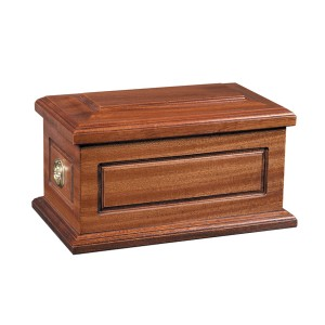 Newton Wooden Cremation Ashes Casket - FREE Engraving when you buy this product.