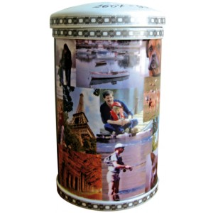 DESIGN YOUR OWN  / PERSONALISED- The Slice of Life Porcelain Cremation Ashes Urn