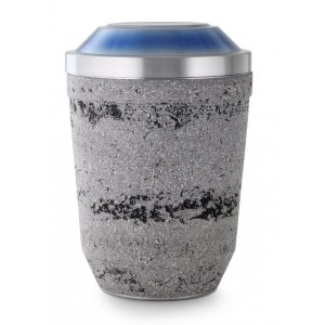 Steel Urn (Artificial Stone Coating – Anthracite Grey)
