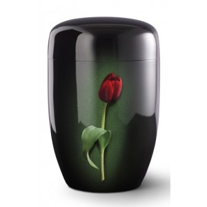 Fall in Leaves – Series Fleur Noire - Cremation Ashes Urn – TULIP